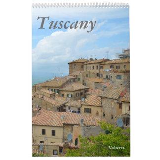 12 month Tuscany, Italy Photo Calendar