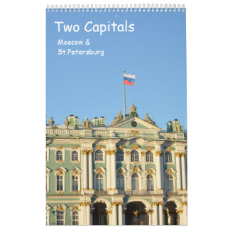 12 month Two Capitals Calendar