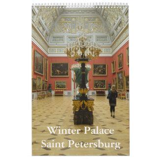 12 month Winter Palace Calendar
