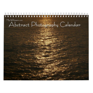 12 Months of Abstract Photography, 2nd Edition Calendar