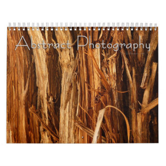 12 Months of Abstract Photography, 3rd Edition Calendar
