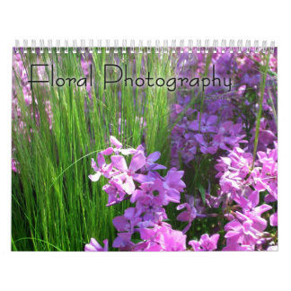 12 Months of Floral Photography, 1st Edition Calendar
