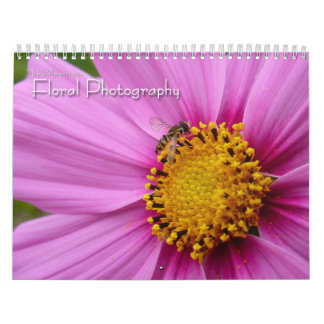 12 Months of Floral Photography, 4th Edition Calendar