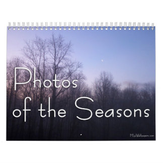 12 Months of Photos of the Seasons, 11th Edition Calendar