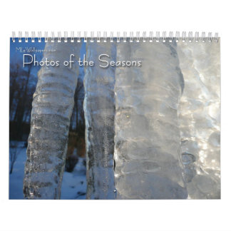 12 Months of Photos of the Seasons, 1st Edition Calendar