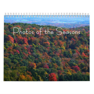 12 Months of Photos of the Seasons, 9th Edition Calendar