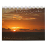 12 Months of Sunrises and Sunsets, 3rd Edition Calendar