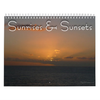 12 Months of Sunrises and Sunsets, 4th Edition Calendar