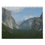 12 Months of Yosemite National Park Calendar