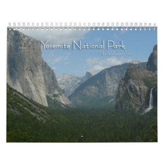 12 Months of Yosemite National Park Calendar