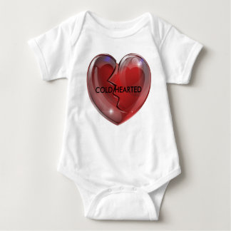 12 Mos Cold Hearted baby outfit Baby Bodysuit