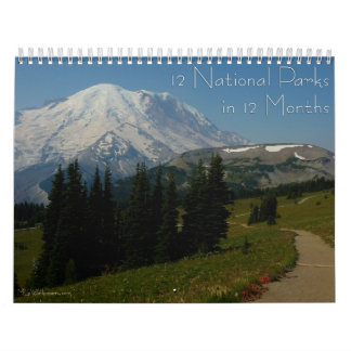12 National Parks in 12 Months, 2nd Edition Calendar