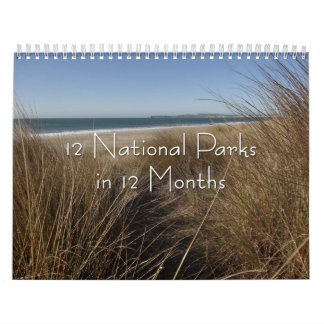 12 National Parks in 12 Months, 6th Edition Calendar