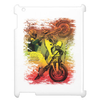 12 O'clock Wheelie iPad Covers