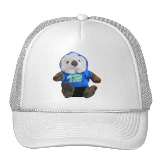 12 Otter with Hoodie Trucker Hat