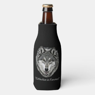 12 oz Bottle Cooler - Istas of Wolf Mtn Sanctuary