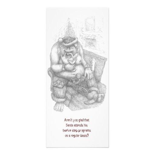 12 paso Santa - navidad Plantillas De Lonas