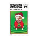 12 perros del navidad sellos