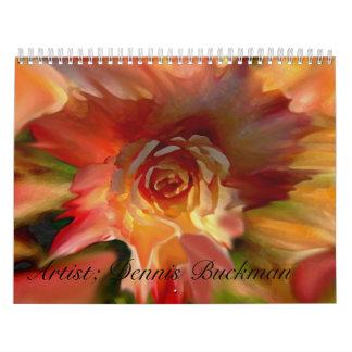 12 Pieces  By Dennis Buckman Calendar