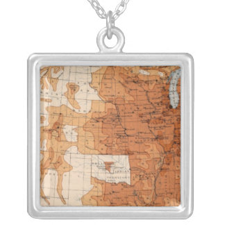 12 Population 1890 Personalized Necklace