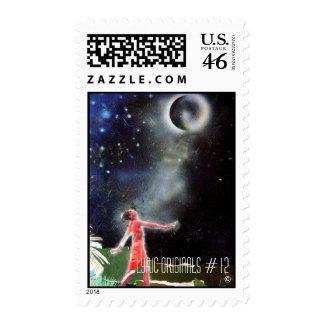 12 Postage Stamp