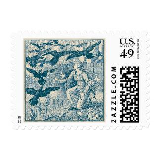"12 Ravens, Small 1.8"" x 1.3"", $0.47(1st Class 1oz) Postage"