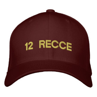 12 RECCE EMBROIDERED BASEBALL HAT