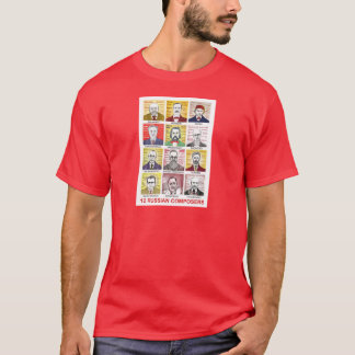 12 Russian Composers T-Shirt