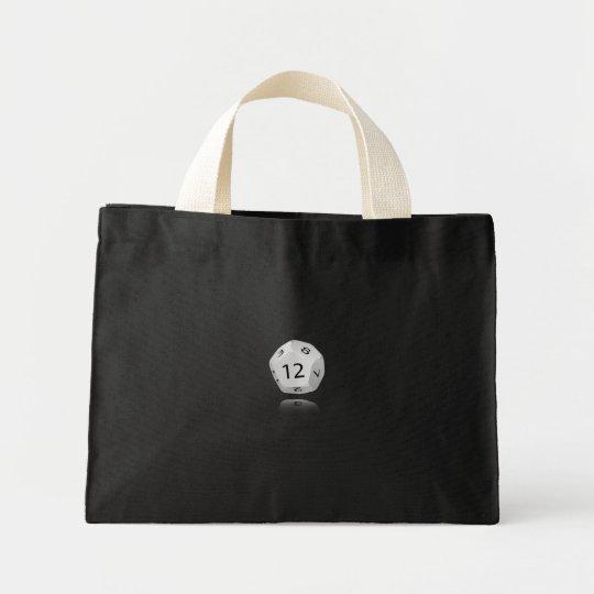 12-sided Die Mini Tote Bag