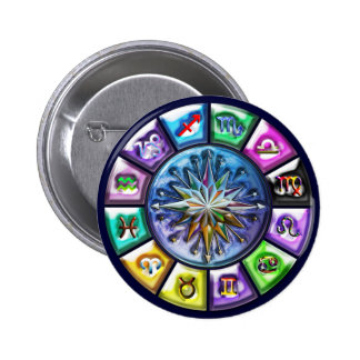 12 Signs of the Zodiac Button