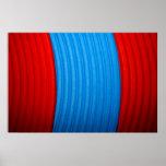 12 solos azules y el rojo raya el poster