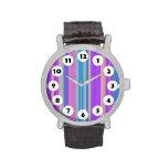 12 Spots - Color Stripes Wristwatch