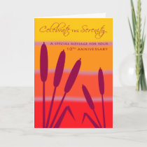 12 Step Birthday Anniversary 10 Years Clean Sober Card