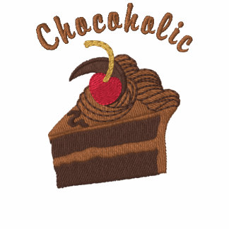 12 Step Chocoholic Embroidered Sweatshirt