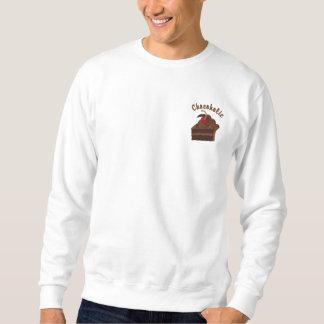 12 Step Chocoholic Embroidered Sweatshirts