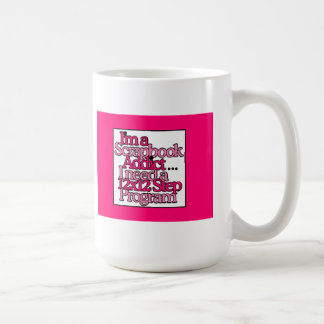 12 Step Program For A Scrapbook Addict Coffee Mug