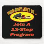12 Step Program Mousepad