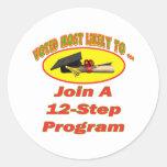 12 Step Program Sticker
