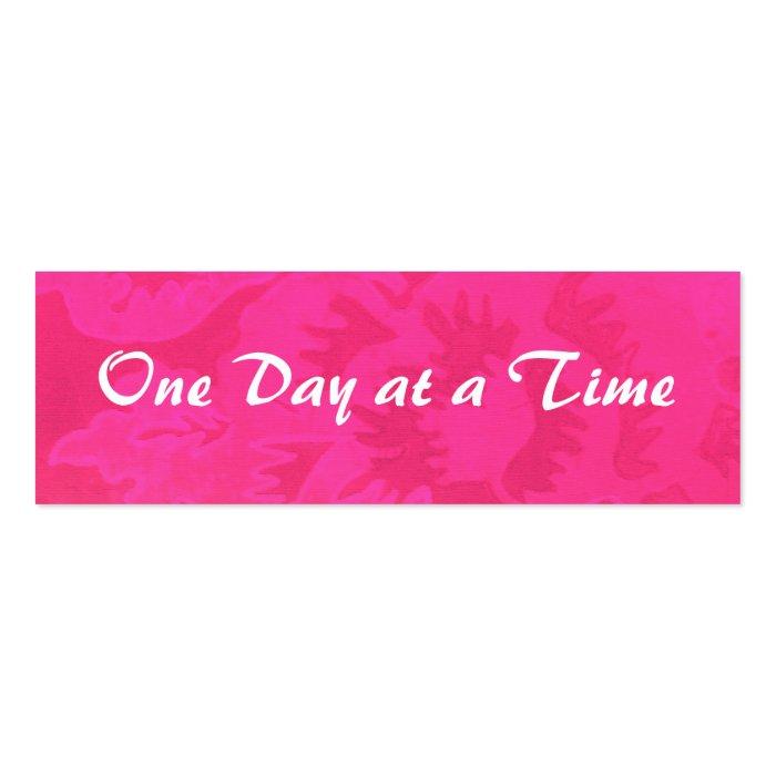 12-Step Rose Fantasy Profile Card or bookmark