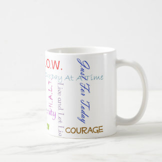 12-Step Slogans Coffee Mug