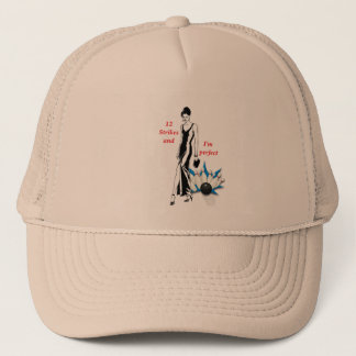 12 Strikes and I'm Perfect #1 Trucker Hat