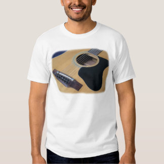 12 String Acoustic Guitar T Shirt