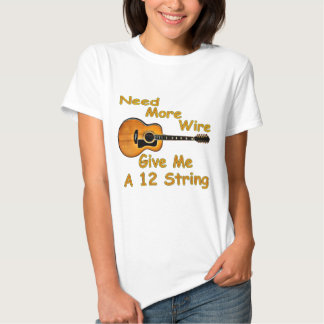 12 String Guitar T Shirt