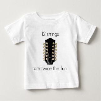12 String Guitars are twice the fun T-shirt