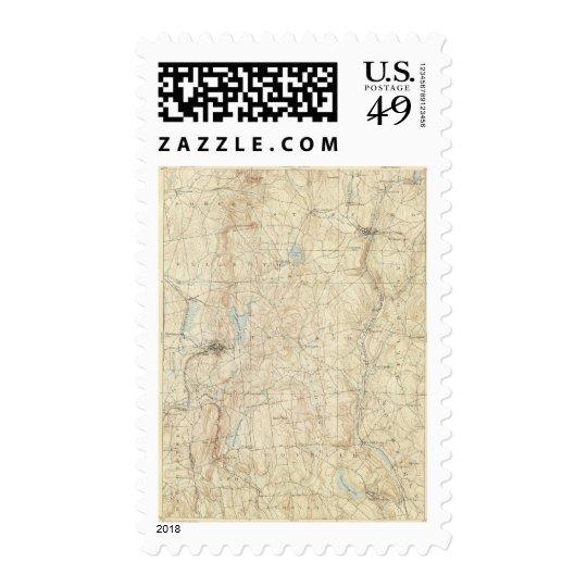 12 Tolland sheet Postage