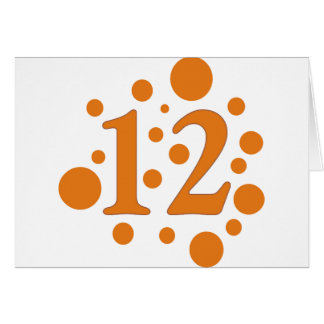 12-Twelve Stationery Note Card