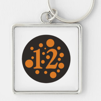 12-Twelve Keychain