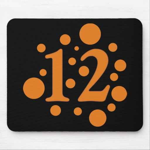12-Twelve Mouse Pad