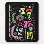 12 urbanos abstractos alfombrillas de ratones