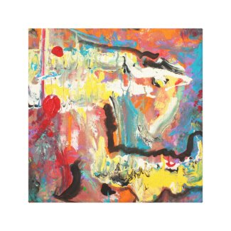 12 X 12 Acrylic Abstract Canvas Print